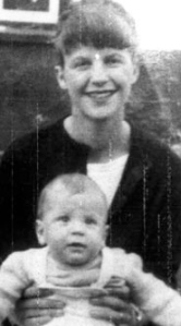 Sylvia Plath and her son Nicholas